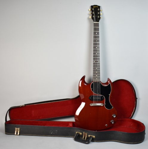 1965 Gibson SG Junior cherry, Very Good, Original Soft