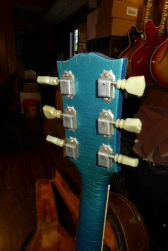 1965 Gibson SG STANDARD Pelham Blue, Very Good, Original Hard, $5,800.00