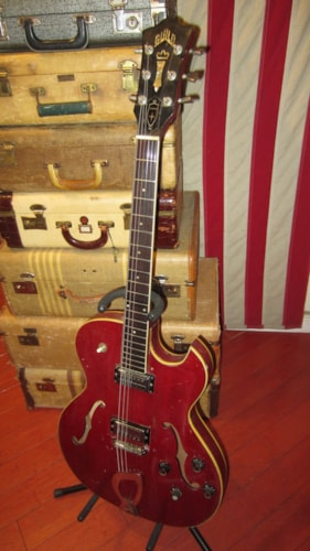 1965 Guild Starfire III Cherry Red
