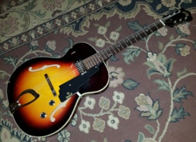 1965 Guild T-50 Hollowbody Electric Guitar