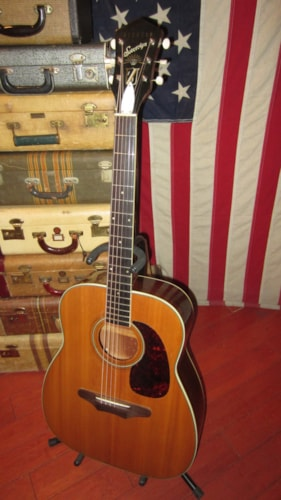 1965 Harmony Sovereign Natural, Excellent, GigBag, $999.00