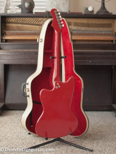 1965 Silvertone 1488 Red, Excellent, Original Soft, $1,200.00
