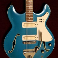 1965 Standel semi-hollow body