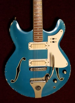 ~1965 Standel semi-hollow body