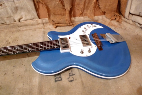 1965 Supro Tremo-Lectric Blue