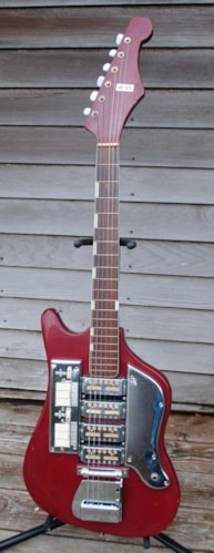 1965 Tiesco SS4L deep red, Excellent, ,
