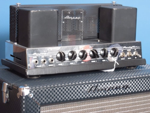 1966 Ampeg B-15N Blue Tolex > Amps & Preamps | Golden Age Fretted  Instruments