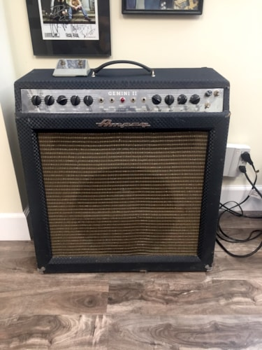 1966 Ampeg Gemini II Amp Combo > Amps & Preamps | The Guitar