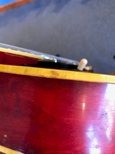1966 Epiphone Broadway, Cherry, Very Good Condition, $2,300.00