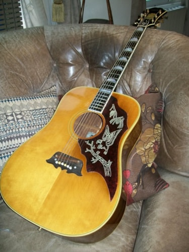 1966 Epiphone Excellente FT-120 natural, Excellent, Original Hard