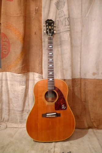1966 Epiphone Texan  Natural, Excellent, Original Soft, $3,200.00