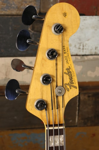 1966 Fender 1966 Jazz Bass Sunburst Excellent