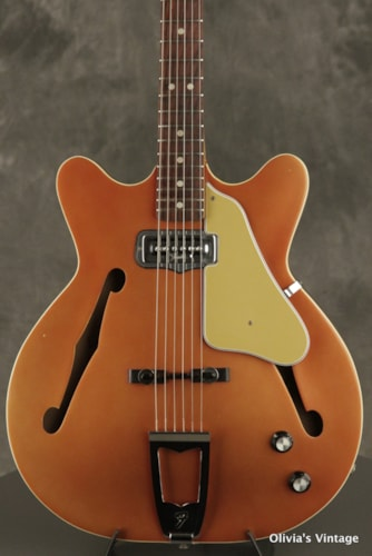 1966 Fender Coronado I faded Candy Apple Red