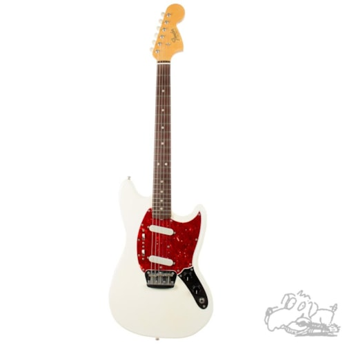 1966 Fender Duo-Sonic II Olympic White, Excellent, Original Hard, $2,000.00
