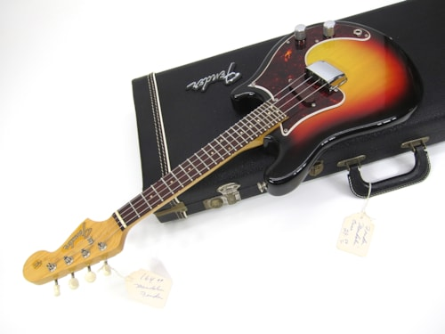 1966 Fender® Electric Mandolin Perfect Sunburst, Near Mint, Original Hard