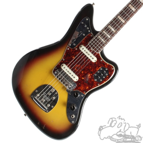 1966 Fender® Jaguar® Very Good, Original Hard, $3,175.00