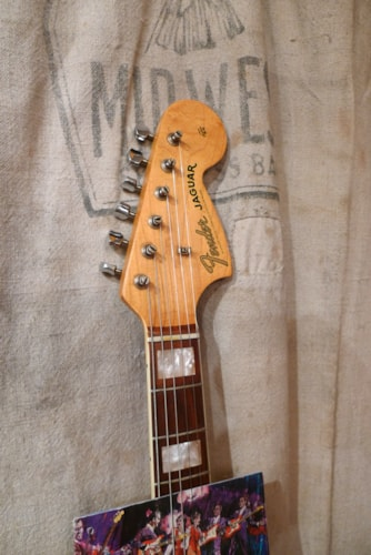 1966 Fender Jaguar Olympic White