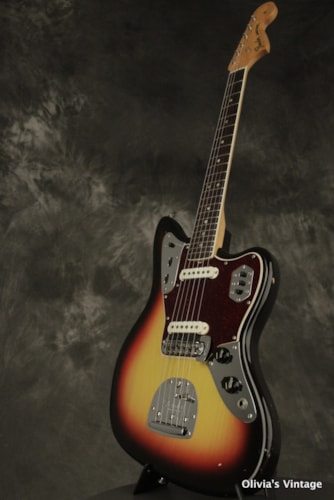 1966 Fender JAGUAR Sunburst CLEAN w/matching number HANG TAG!!!