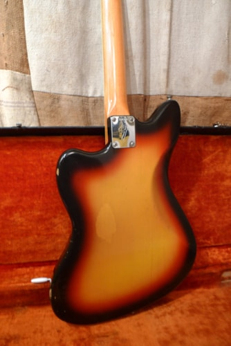 1966 Fender® Jazzmaster™ Sunburst, Excellent, Original Hard, $4,800.00