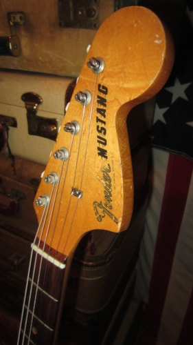 1966 Fender Mustang Grey Gt Guitars Electric Solid Body