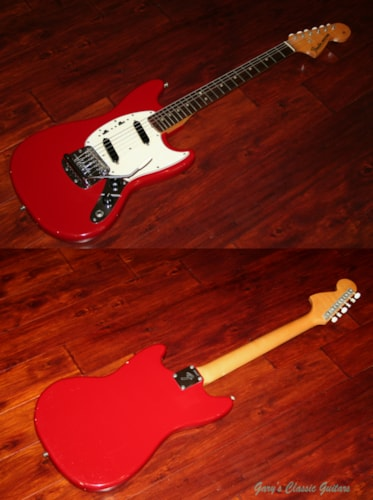 1966 Fender® Mustang® Red, Excellent, Original Hard