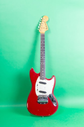 1966 Fender Mustang Red