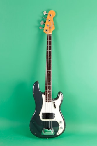 1966 Fender Precision Bass Charcoal Frost Metallic