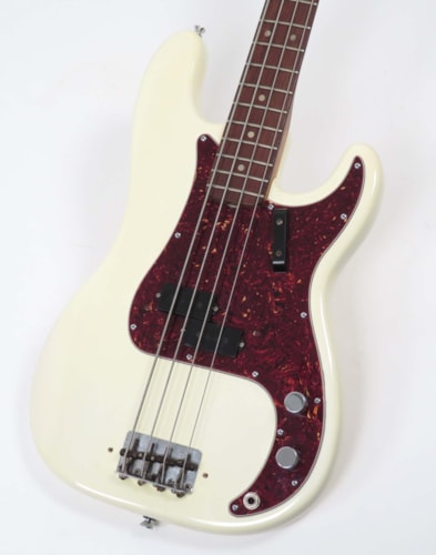 1966 Fender Precision Bass Olympic White