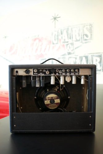 1966 Fender Princeton Reverb Blackface, Very Good, $2,750.00
