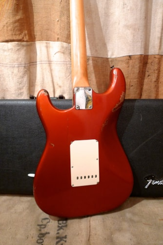 1966 Fender Stratocaster Candy Apple Red, Very Good, Original Hard
