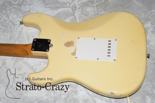 1966 Fender Stratocaster Olympic White/Rose neck