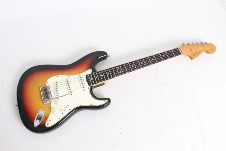 1966 Fender® Stratocaster® Sunburst, Excellent, Original Hard, $11,999.00