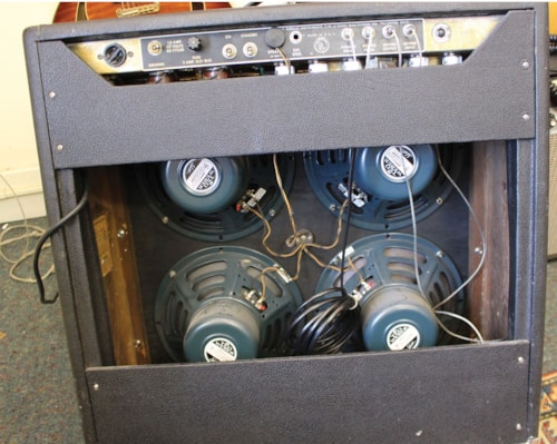 1966 FENDER  Super Reverb Black Panel