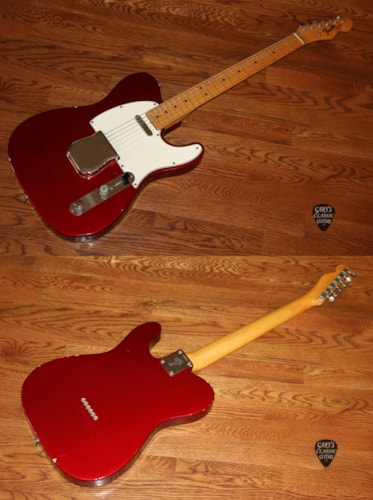1966 Fender Telecaster Candy Apple Red