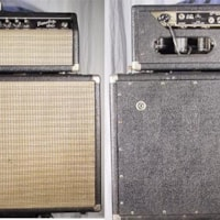 1966 Fender Tremolux Amp Head & Cabinet