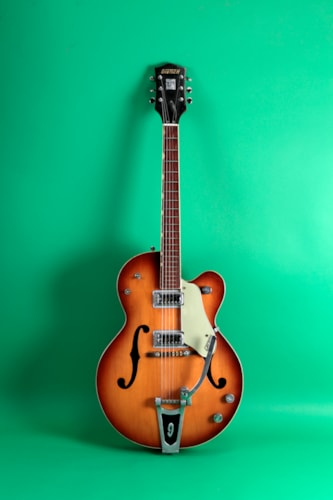 1966 Gretsch 6117 Double Anniversary Sunburst
