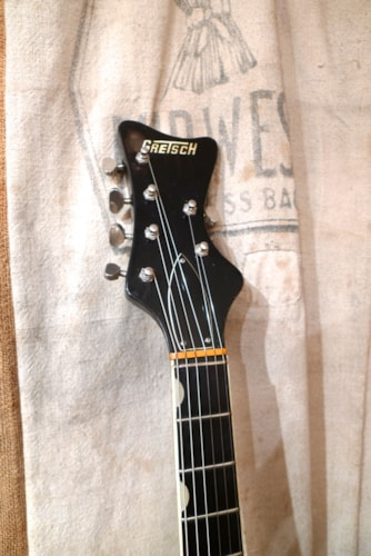 1966 Gretsch 6126 Astro Jet Red / Black, Very Good, Original Hard, $2,650.00