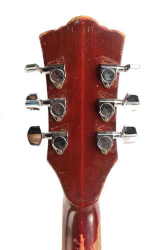 1966 Guild Starfire IV Cherry, Good, Original Hard