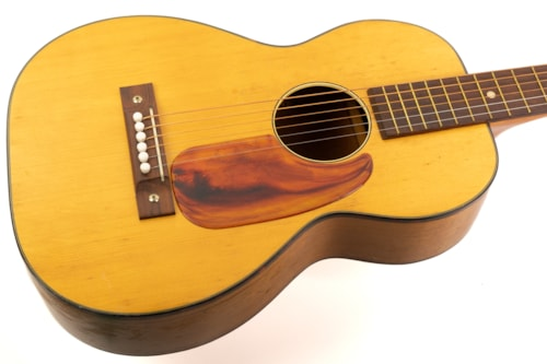 1966 Harmony H162 Half-Size Acoustic Natural, Very Good