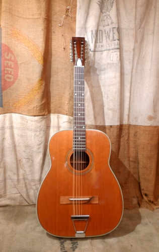 1966 Harmony Sovereign 12 String Natural, Excellent, Soft, $875.00