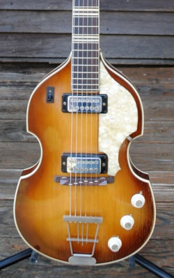 1966 HOFNER 1st Run Violin Guitar