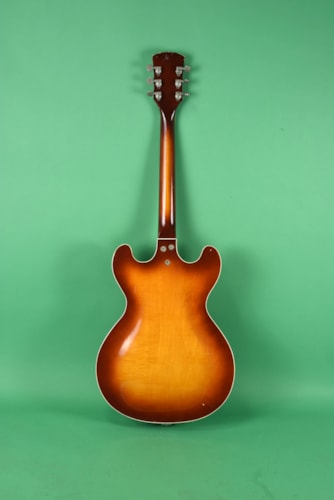 1966 Kay Model 650 Guitar Sunburst