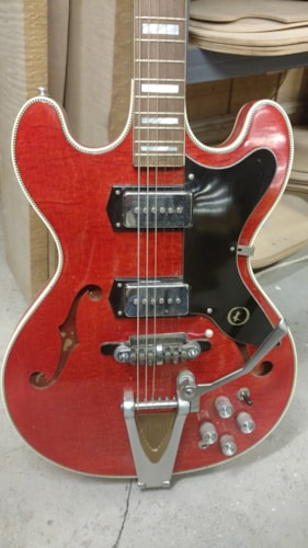 1966 Kay Swingmaster K650 Red, Mint, Original Soft