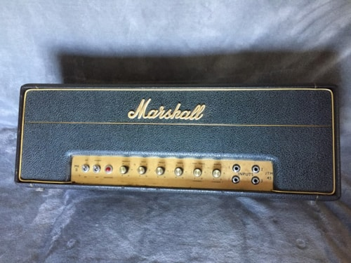 1966 Marshall JTM 45 MkII 1966 Head Black, Excellent, Call For Price!