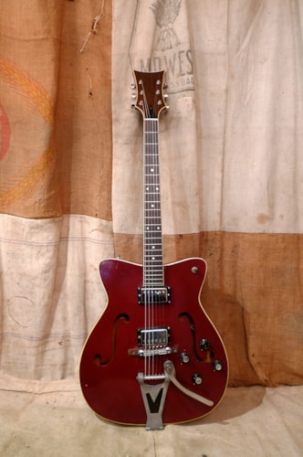 1966 Martin GT-75 Red, Good, Original Hard, $1,500.00