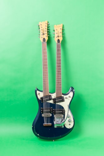 1966 Mosrite Joe Maphis double neck 6-12 string Blue