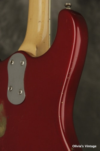 1966 MOSRITE The Ventures model XII 12-string CANDY APPLE RED