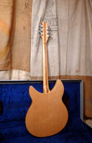 1966 Rickenbacker 330/12 Mapleglo, Very Good, Original Hard, $3,200.00