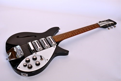 1966 Rickenbacker Lennon 325 Model Jetglo, Excellent, Original Hard