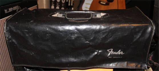 ~1966 Vctoria Luggage Co. Fender Dual Showman Cover